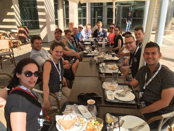 First SSP16 staff breakfast