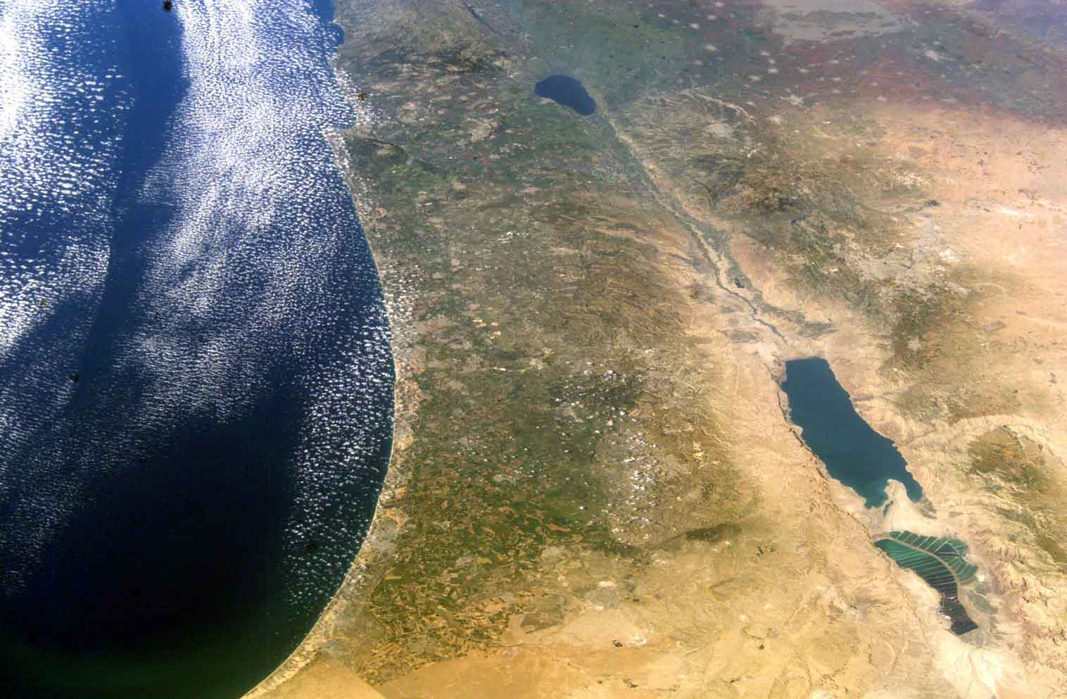 Israel NASA picture